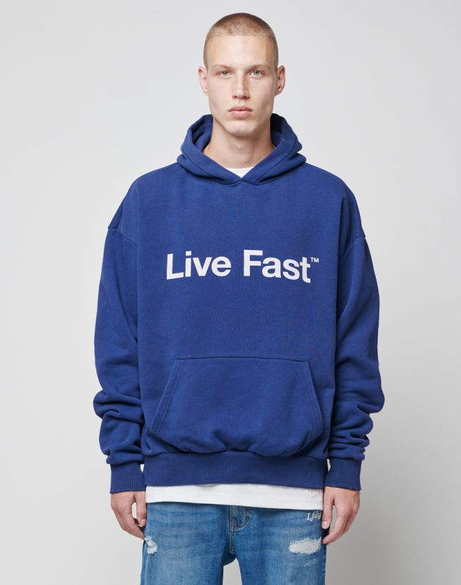Live Fast Bold Hooded