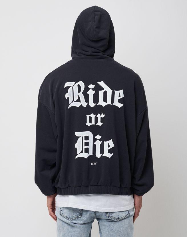 Ride Or Die Hooded Zip
