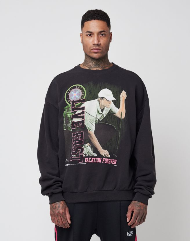 Live Fast Golf Sweater