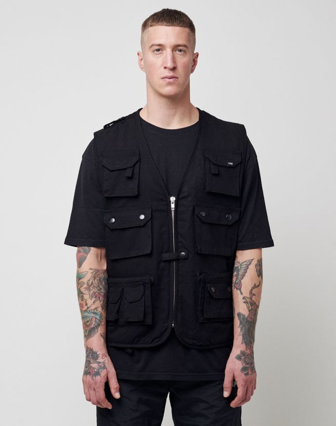 Lined Cargo Vest