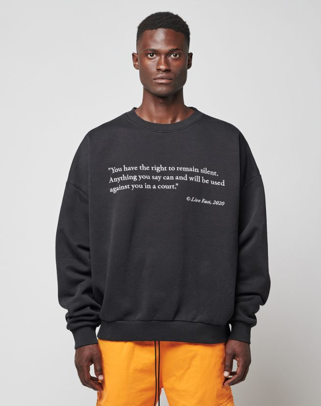 Arrest Sweater