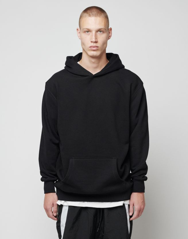 Patchwork Hooded