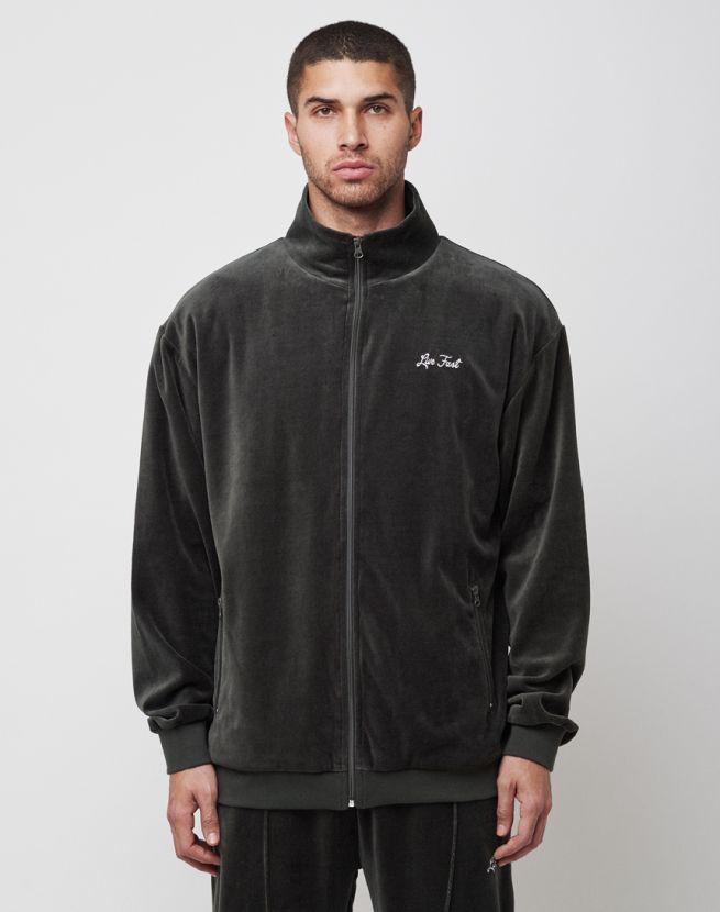 Velvet Zip Jacket