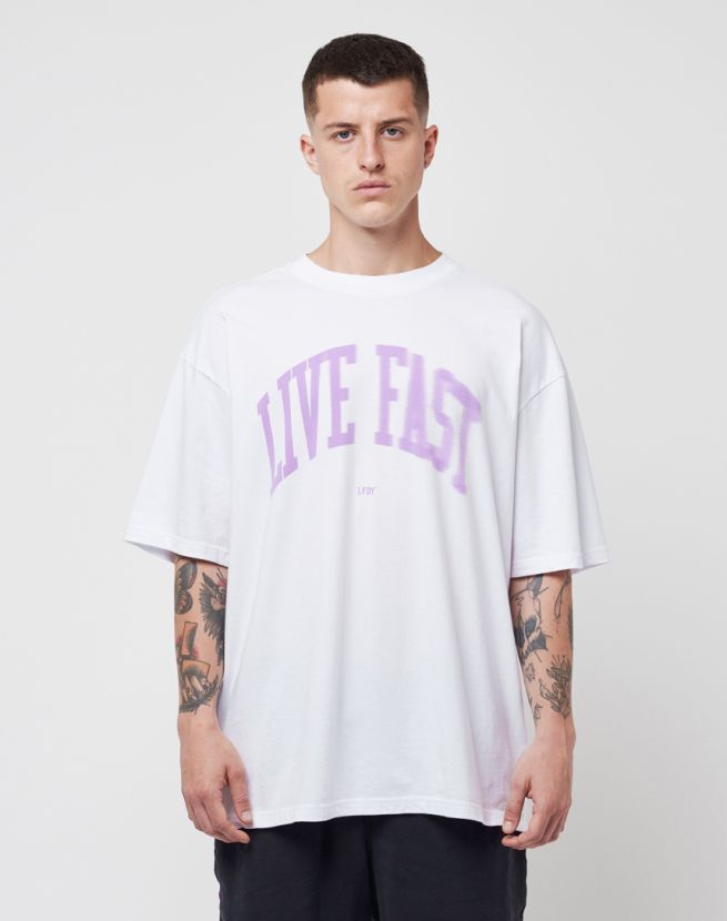 Live Fast Fade Tee