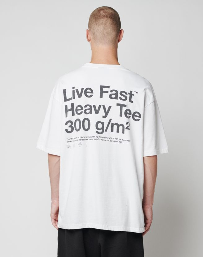 Live Fast Heavy Tee