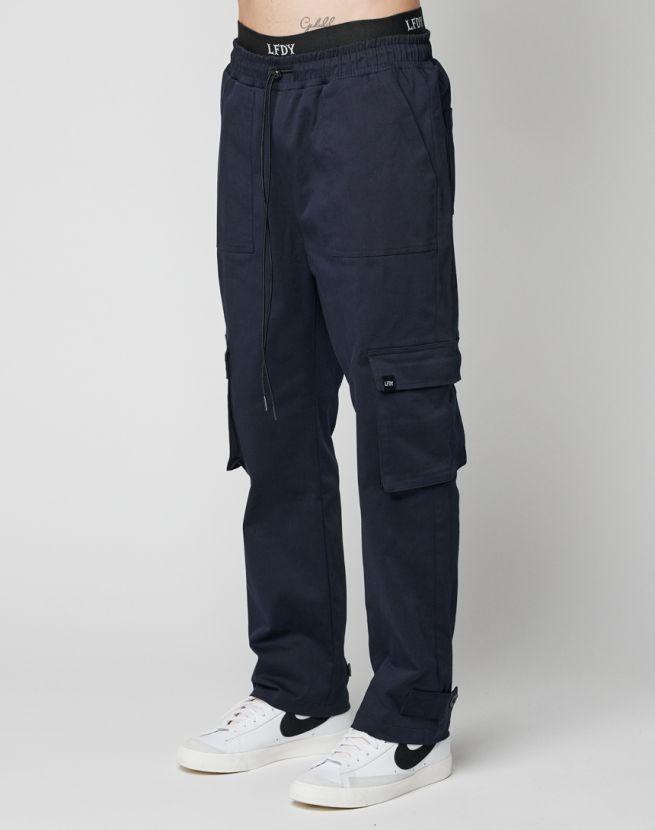 Button Cargo Pants