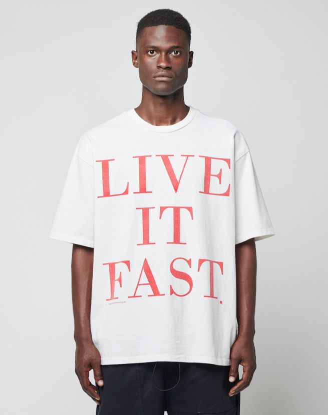 Live it Fast Tee