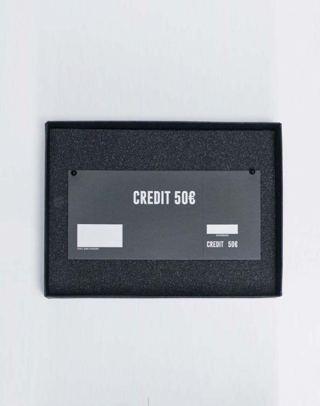 Gutschein | Giftcard 50 mit Geschenkverpackung