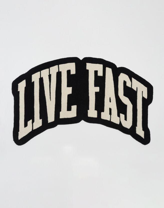 Live Fast Carpet